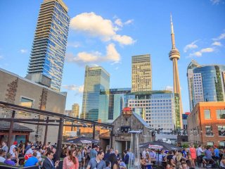 The Porch Top Toronto Patio | View the VIBE Toronto