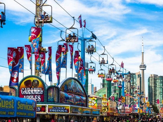 FREE Admision CNE The Ex Canadian National Exhibition Toronto | View the VIBE