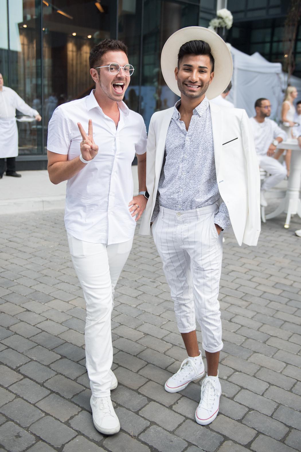Daniel Reyes - DotheDaniel - Do the Daniel - Diner en Blanc Toronto 2018   View the VIBE Toronto