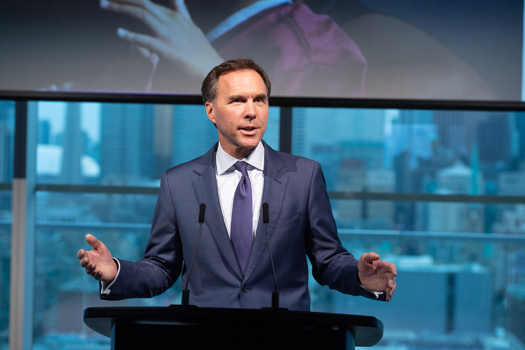 Honourable Bill Morneau, Minister of Finance at the Amari Soiree | View the VIBE Toronto