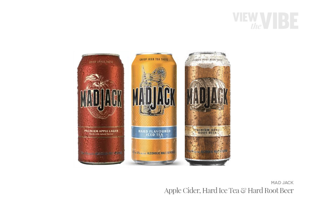 Mad Jack Cider, Hard Ice Tea, and Hard Root Beer | View the VIBE Toronto
