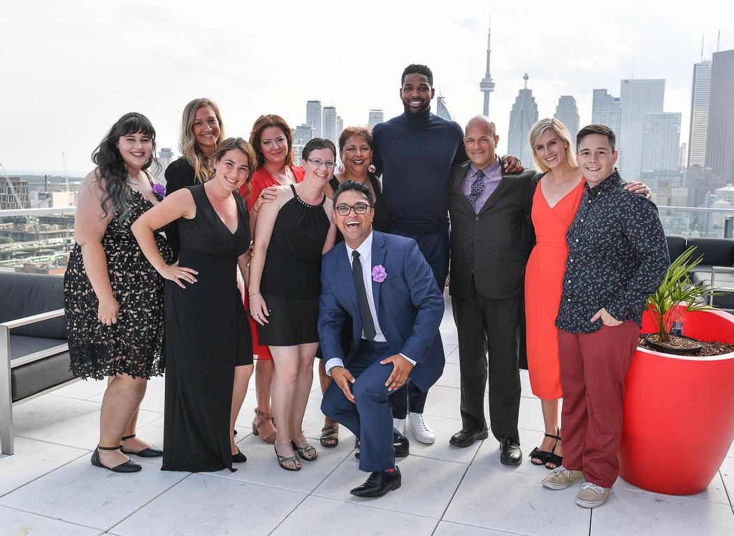 Globe & Mail Centre Patio View - Epilepsy Toronto Team | View the VIBE Toronto