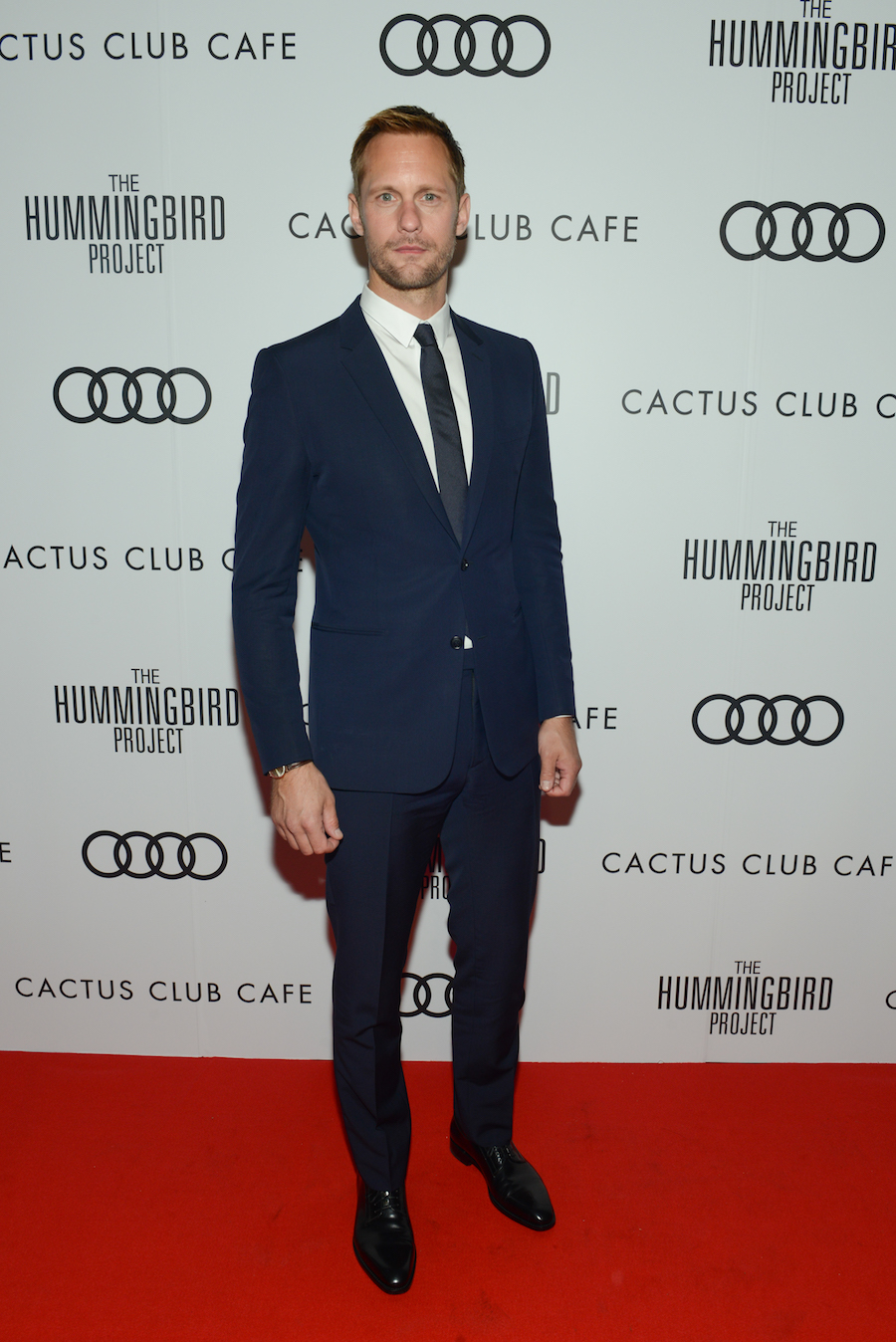 Alexander Skarsgård at 'The Hummingbird Project' premiere party hosted by Cactus Club Cafe at First Canadian Place. (Photo: George Pimentel - Getty Images for Cactus Club Cafe) | View the VIBE