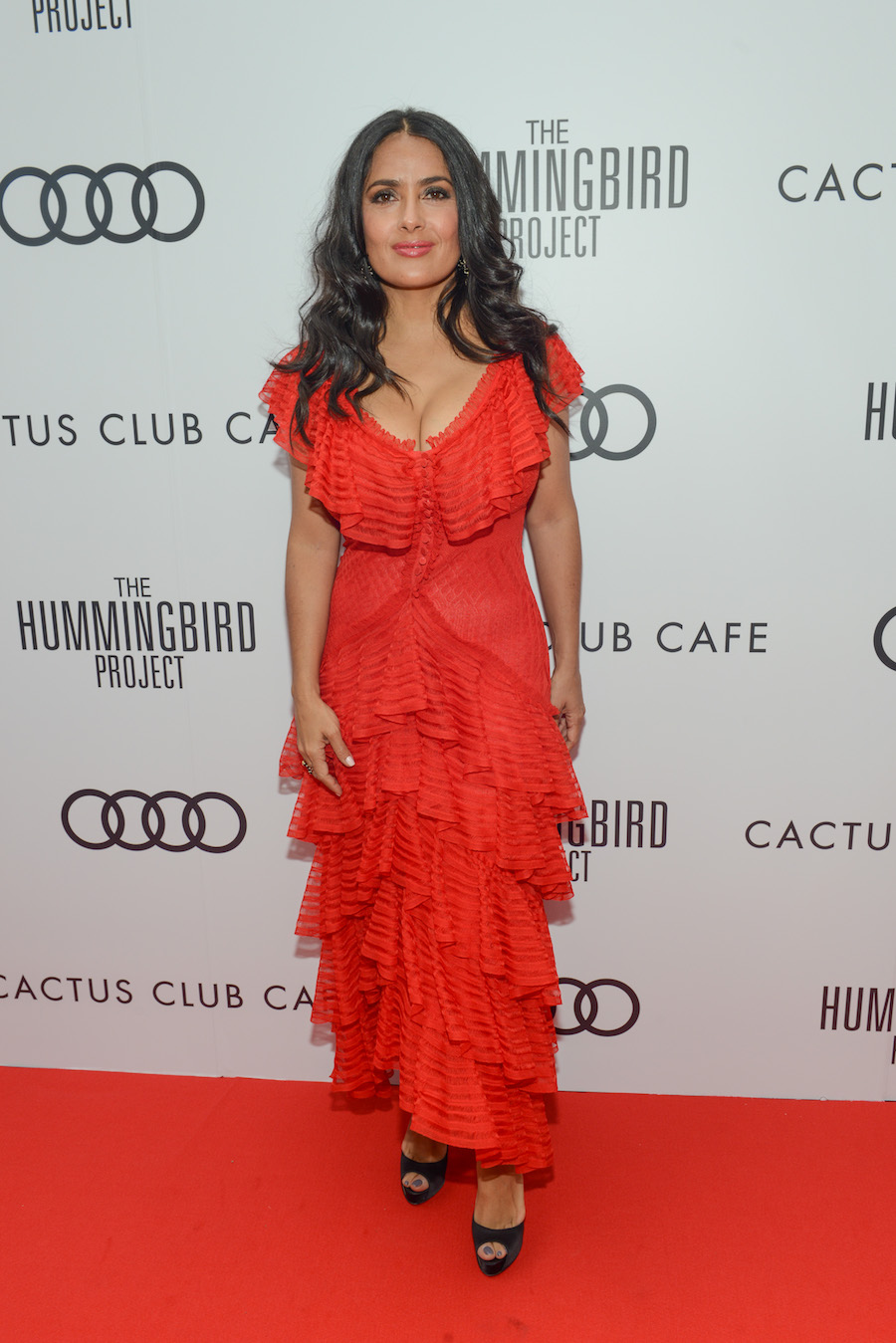 Salma Hayek at 'The Hummingbird Project' premiere party hosted by Cactus Club Cafe at First Canadian Place. (Photo: George Pimentel/Getty Images for Cactus Club Cafe) | View the VIBE