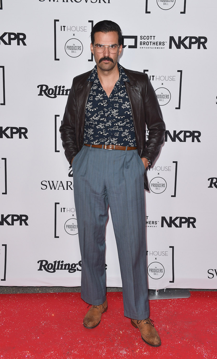 Benjamin Ayres at the IT House x Producers Ball (Photo: Courtesy of NKPR) | View the VIBE