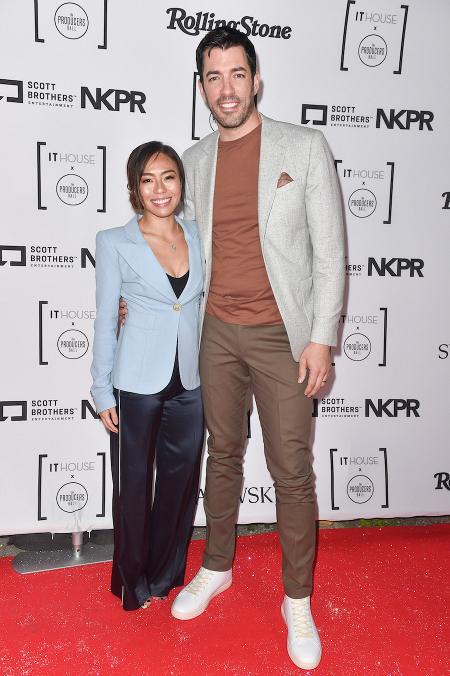 Drew Scott & his newly wed wife, Linda Phan at the IT House x Producers Ball (Photo: Courtesy of NKPR)