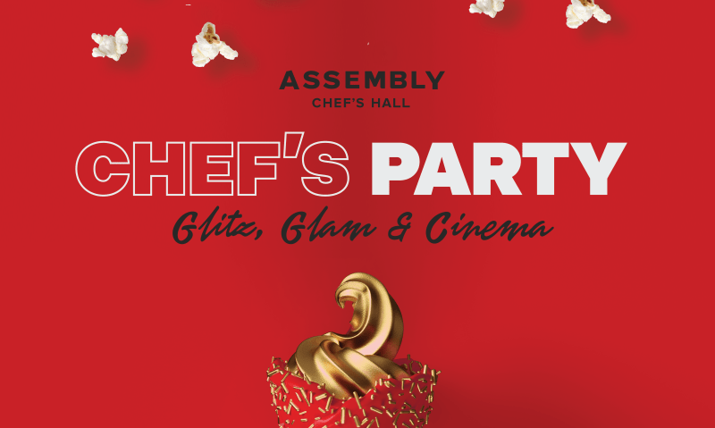 Chef's Party Glits Glam Cinema - Chef's Assembly Hall | View the VIBE Toronto