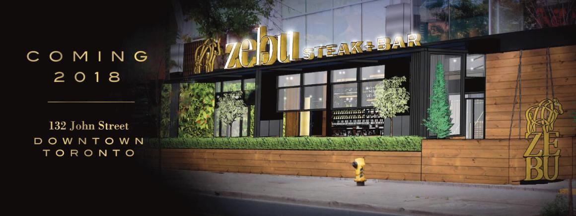 Zebu Steak+Bar Toronto