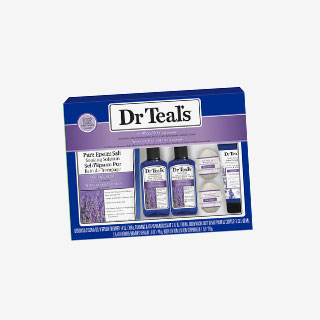 Dr Teal's Lavender Pure Epsom Salt 6pc Gift Set - View the VIBE