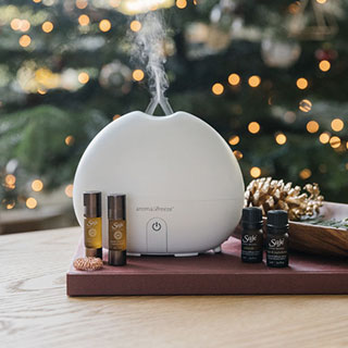 Best of Saje Deluxe Diffuser Set - View the VIBE