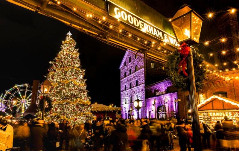 Toronto Christmas Market - View the VIBE