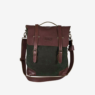 Tilley Waxed Cotton Convertible Knapsack - View the VIBE