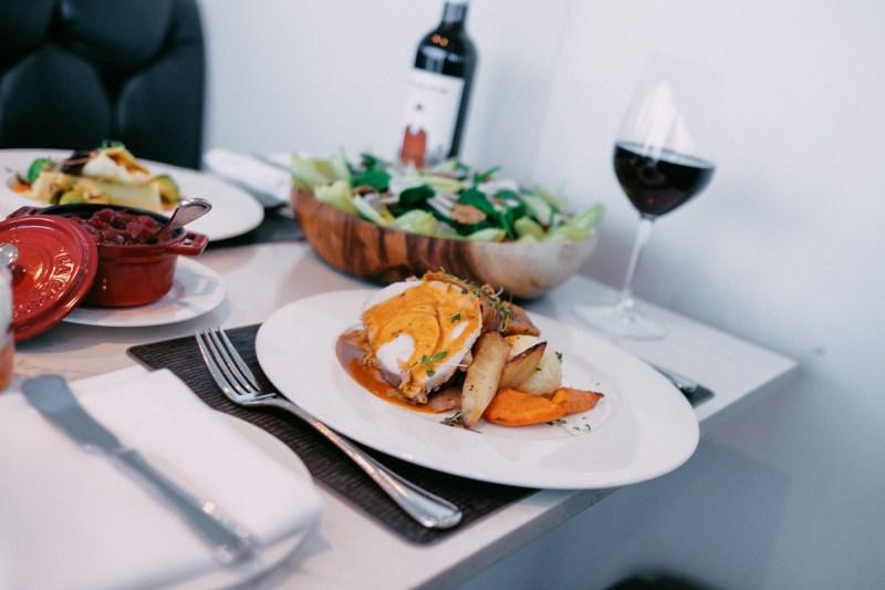 Turkey dinner at 360 restaurant CN Tower Toronto - View the VIBE