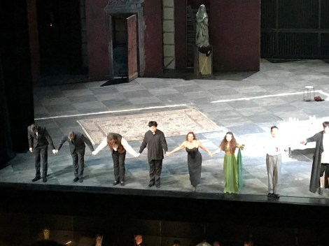 Tosca Curtain Call Deutsches Oper am Rhine