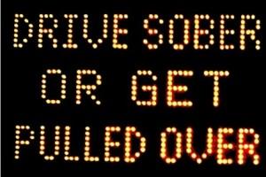 drive sober or else