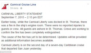 carnival liberty statement