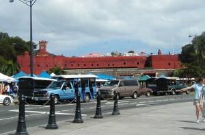 fort christian parking lot