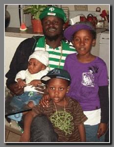 David Payne with children