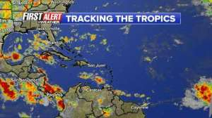 tropics weather
