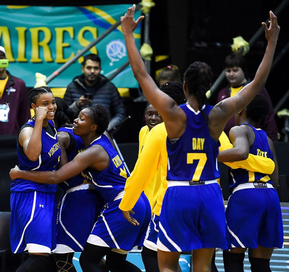 719381e389a Virgin Islands Women s Basketball Team Shocks The World With 67-60 Overtime  Win Over Brazil In FIBA AmeriCup Championships