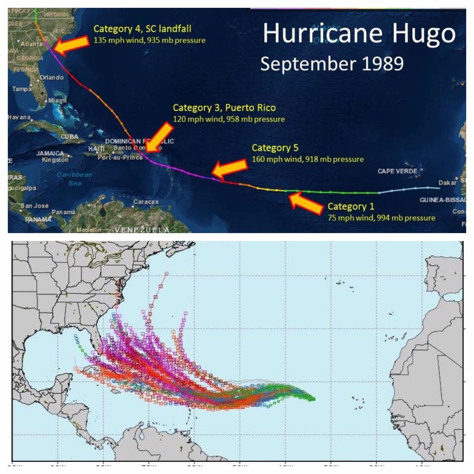 With Early Comparisons To Hugo The Virgin Islands and Puerto Rico