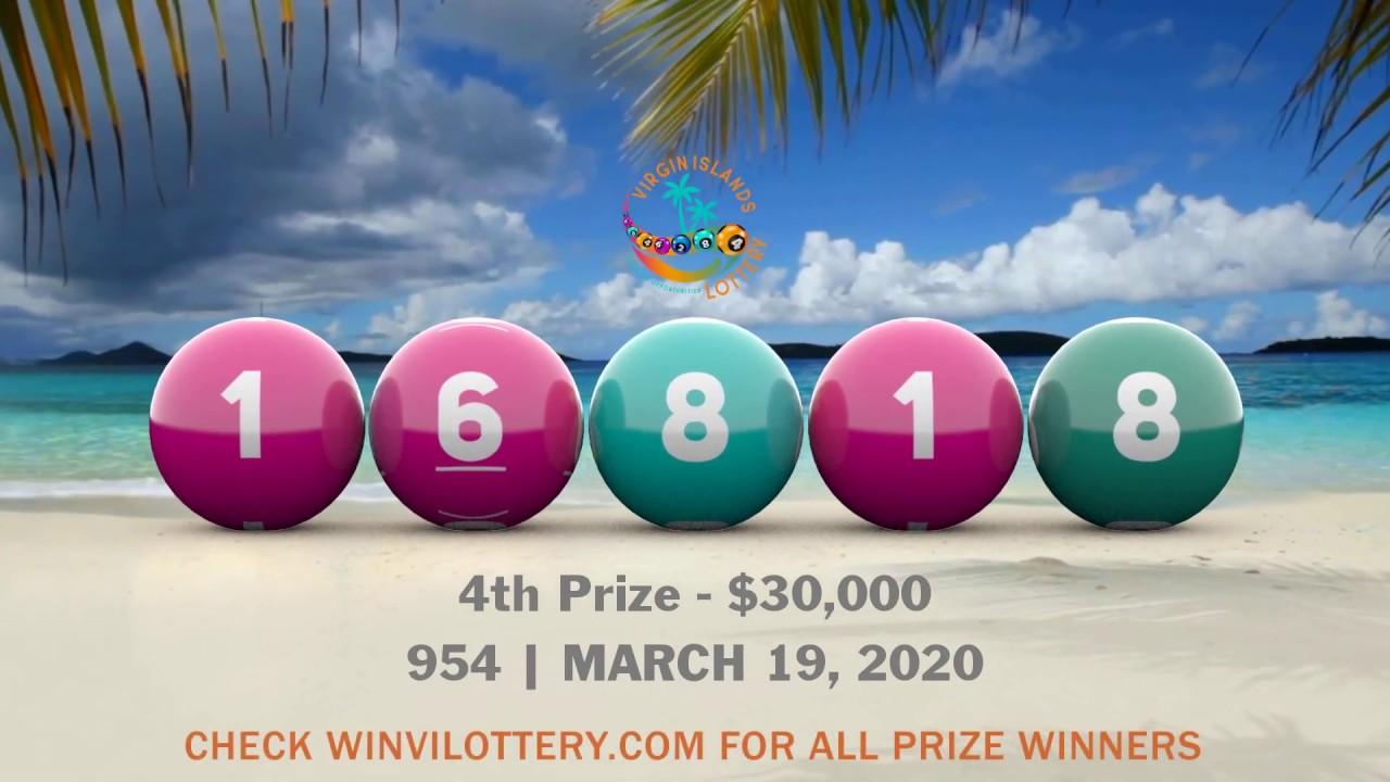 Virgin Islands Lottery Postpones Next Drawing For 2 Weeks Due To Covid 19 Virgin Islands Free