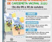 Campanha de Atualização de Caderneta Vacinal 2020