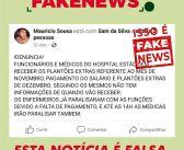 Não Estimule o Fake News