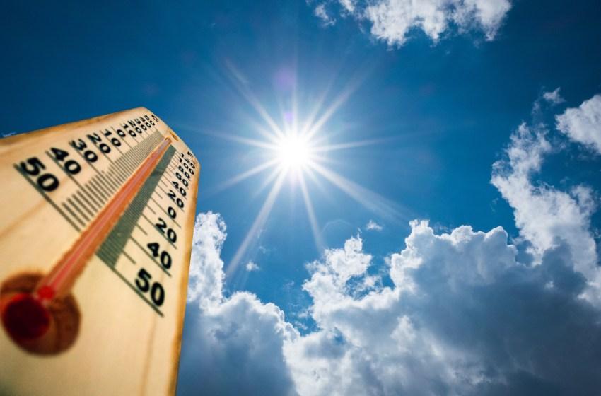 La ONAMET pronosticó pocas lluvias y temperatura calurosas este sábado