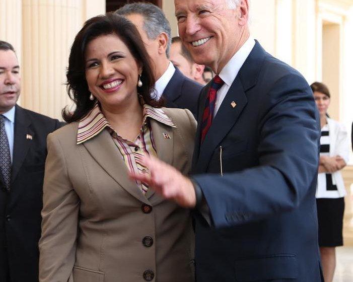 Margarita Cedeño felicita a Joe Biden y a Kamala Harris