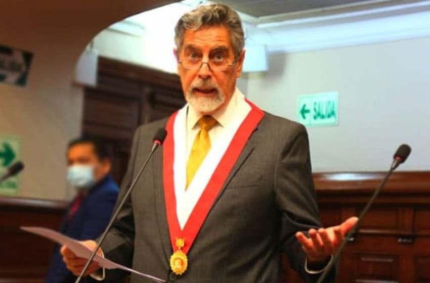 Francisco Sagasti será el presidente de Perú; jura hoy