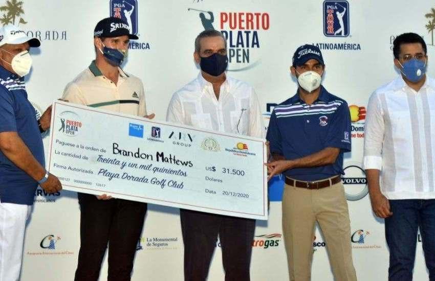 David Collado sobre Puerto Plata PGA Tour: Eventos como este muestran verdadera cara de RD al mundo