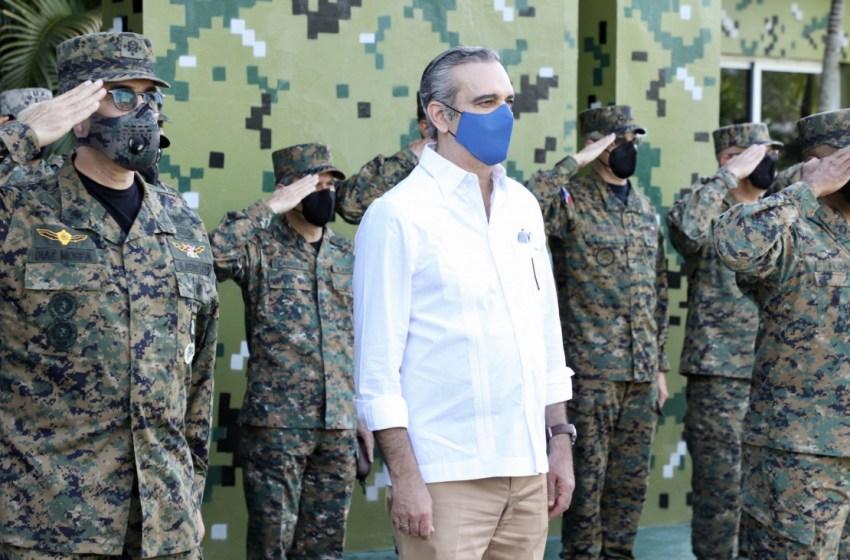 Presidente Abinader fortalecerá Fuerzas Armadas