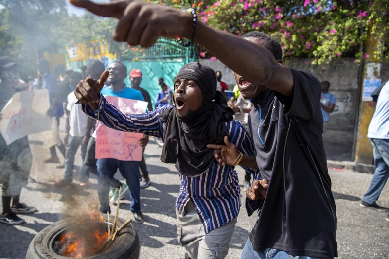 Haití se alista para protestas, piden renuncia de presidente