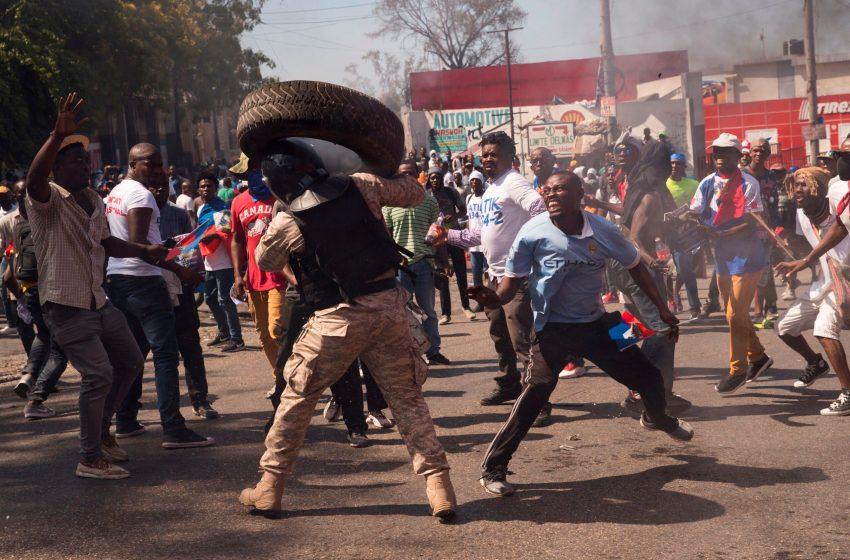 Los disturbios en Haití dejan al menos un muerto y un herido