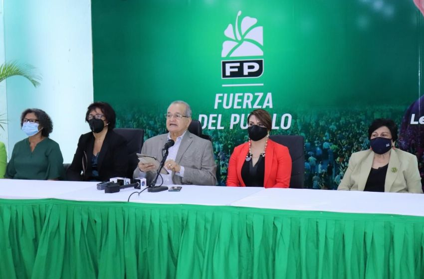 Fuerza del Pueblo pospone Plenaria de cierre de Primer Congreso para el 21 de marzo
