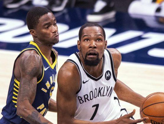 Durant anota 42 puntos y los Nets consolidan su liderato en el Este