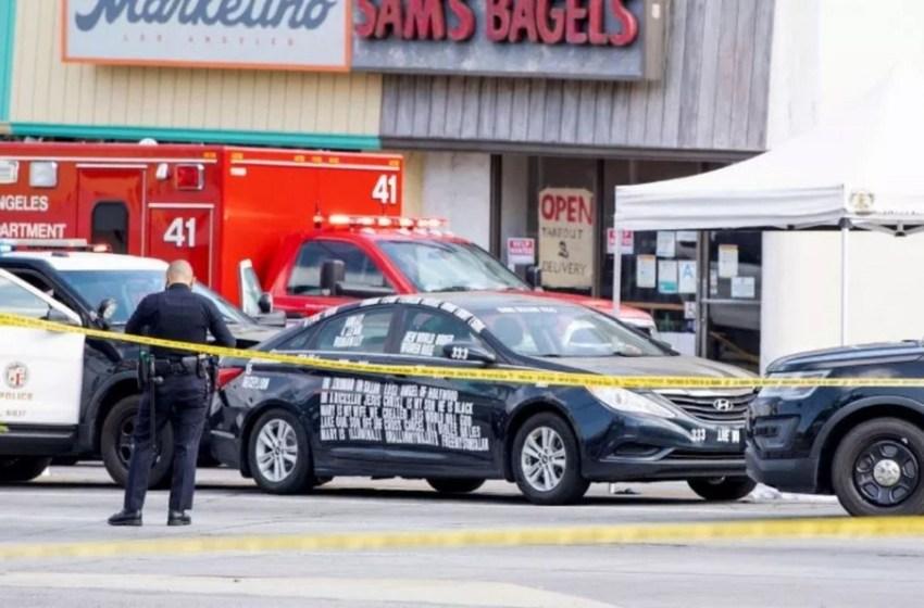 Policía abate hombre en Los Ángeles