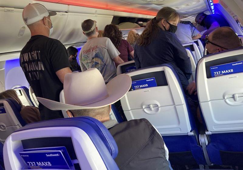 Aumenta el número de viajeros aéreos en EEUU