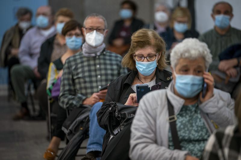 España alcanza marca de 5 millones de personas vacunadas