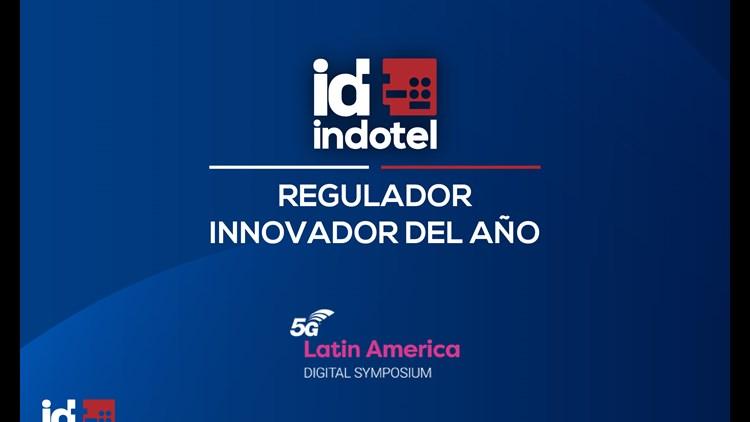 """Indotel es galardonado como """"Regulador Innovador del Año 2021"""" en el 5G Latin America Digital Symposium"""