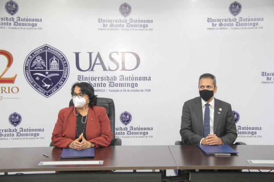 UASD firma convenio de colaboración con el ITLA