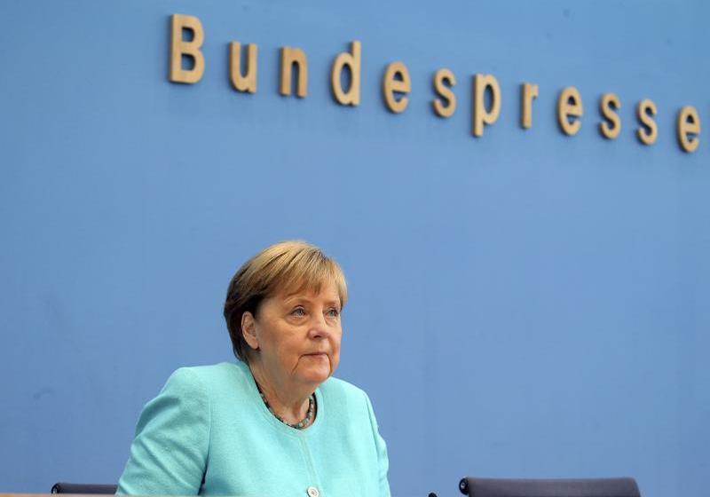 Merkel: Preocupante aumento de contagio de COVID en Alemania
