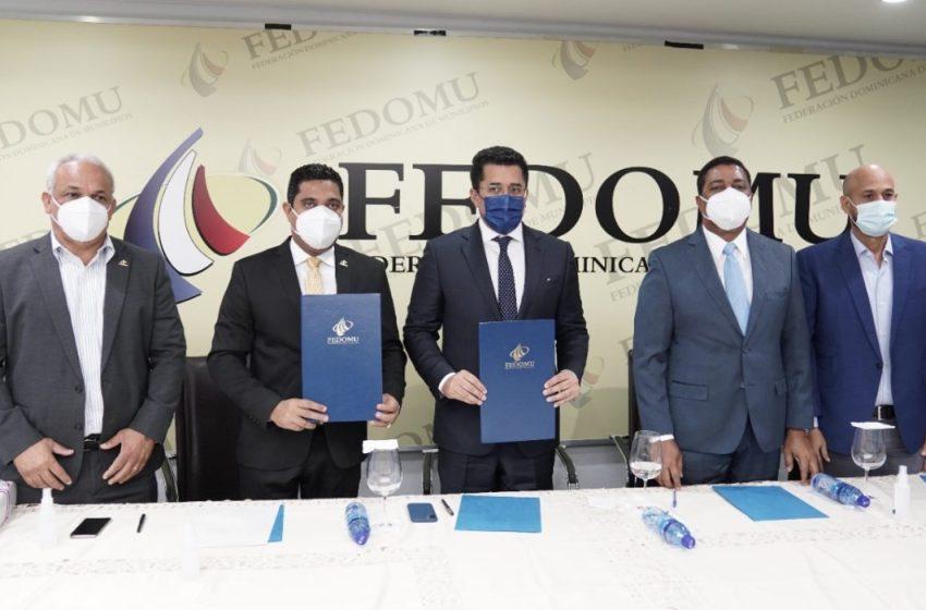 Fedomu y MITUR promoverán el desarrollo turístico en los municipios del país
