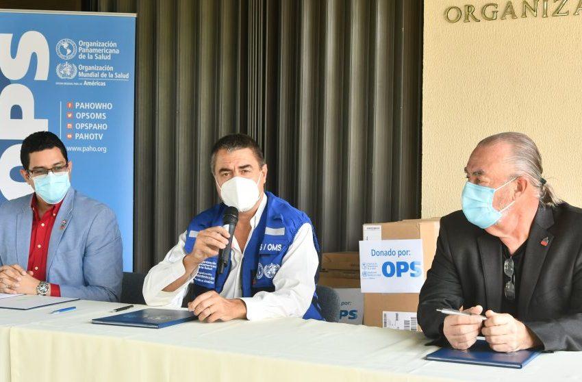Ministerio de Salud Pública recibe donativo de equipos tecnológicos de la Organización Panamericana de Salud (OPS)
