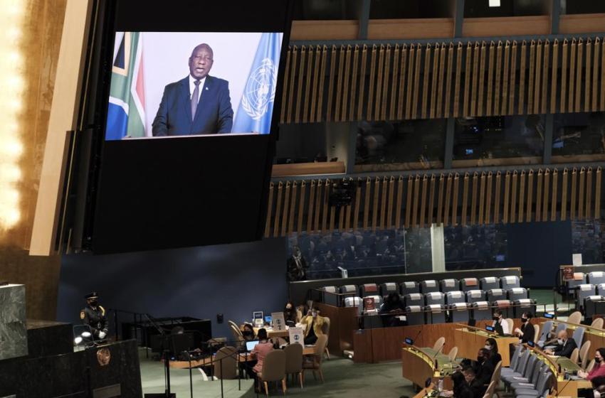 """ONU: Líderes africanos exponen """"apartheid"""" en vacunas COVID"""