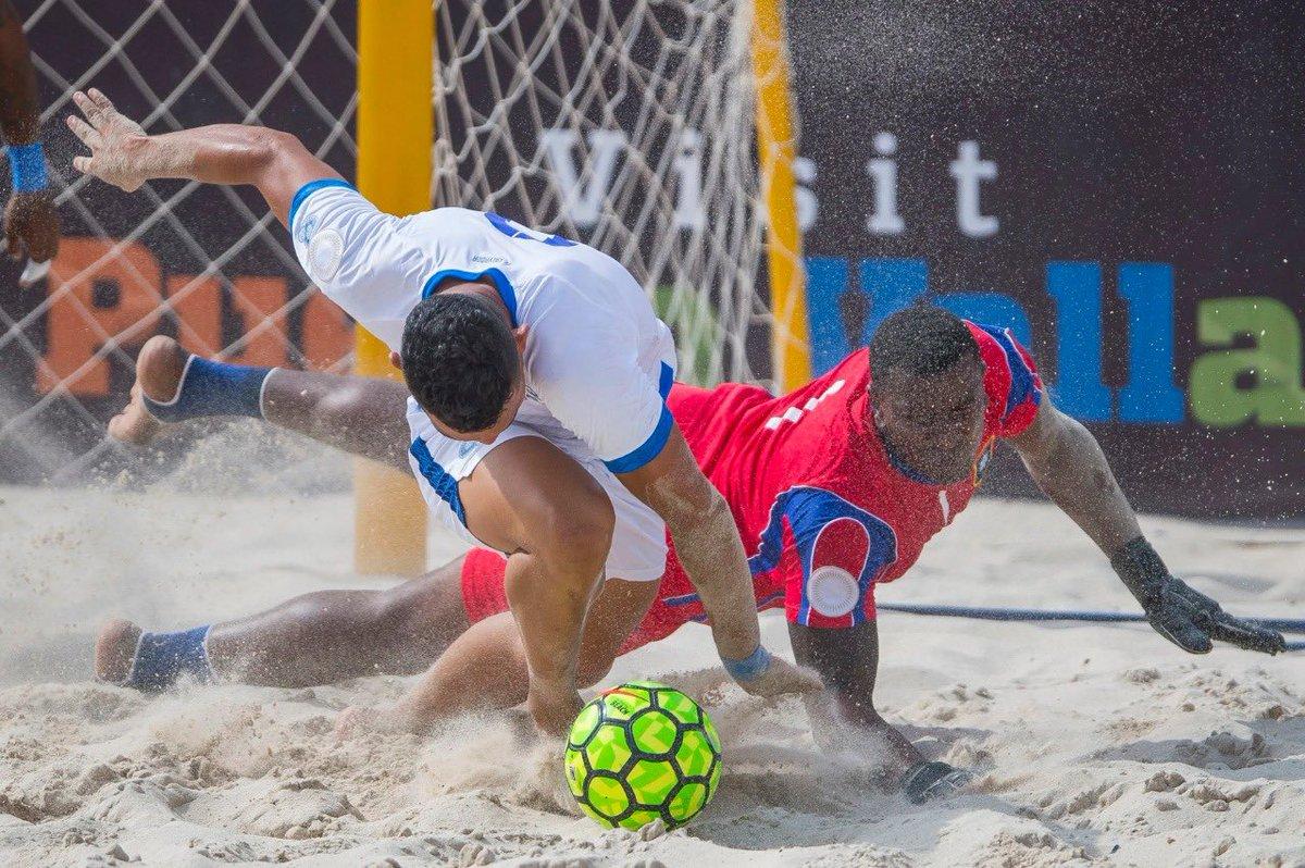 Fútbol playa y sala podrían entrar al programa de los Juegos CAC 2023