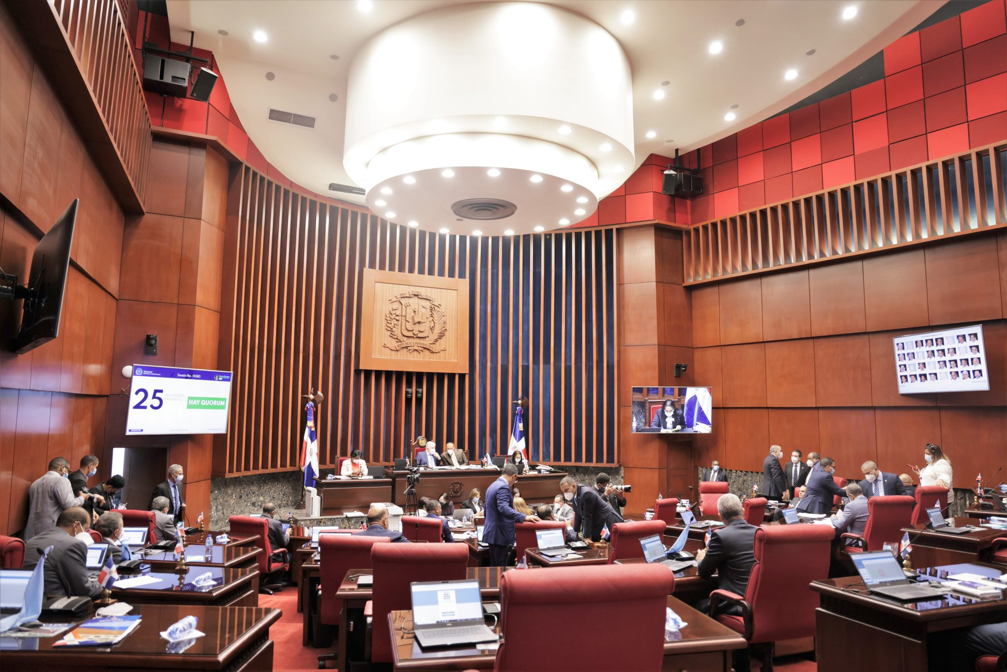 El Senado aprueba en primera lectura el proyecto de Ley que deroga leyes y artículos sobre exenciones