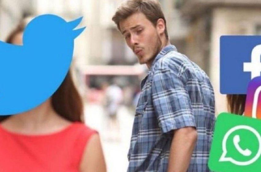 "Memes ""inundan"" Twitter por caída de Facebook, WhatsApp e Instagram"