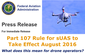 FAA Part 107 Announced